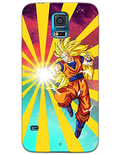 Samsung Galaxy S5 Cases & Covers - Dragon Ball Z Goku Raging Blast Case by myPhoneMate - Designer Printed Hard Matte Case - Protects from Scratch and Bumps & Drops.  available at amazon for Rs.489