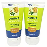 Arnika Aktiv-Gel mit Panthenol zur Einreibung und Massage auf Haut und Muskulatur 2 x 150 ml