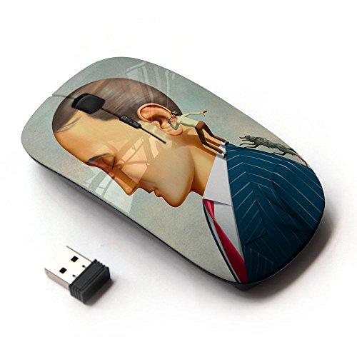 KOOLmouse [ Mouse Senza Fili Ottico 2.4G ] [ The Imporant Whisper (Whisper Air)