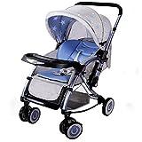 Peixia Department Store Kinderwagen Kinderwagen Schaukelstuhl 2 In 1 Klappstuhl Geeignet für 0-36 Monate Baby Buggy Stroller Babywagen (Farbe : 2#)
