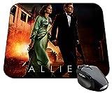 Allied Brad Pitt Marion Cotillard Tapis De Souris Mousepad PC