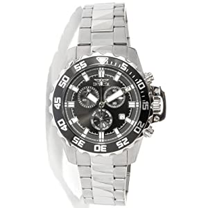 Invicta Pro Diver Chronograph Black Dial Stainless Steel Mens Watch 13624 de Invicta