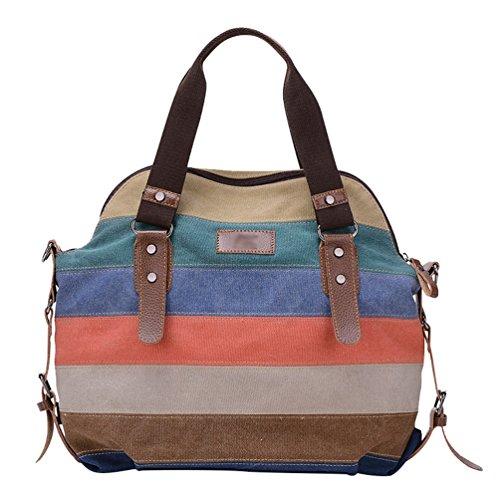 Nett Damenhandtasche Schultertasche Tasche Umhängetasche Canvas Shopper Crossover Bag Schmerzen Haben Kleidung & Accessoires