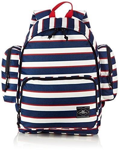 O´Neill AC Coastline P2 Backpack - Mochila, color azul con rayas blancas