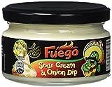 Fuego Sour Cream und Onion Dip, 4er Pack (4 x 200 ml)