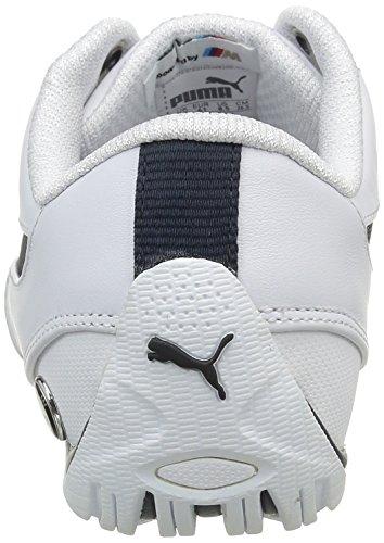 Puma Bmw Ms Drift Cat 5, Baskets Basses Homme Blanc (White/Team Blue)