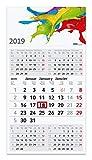 Geiger-Notes 5-Monatskalender 2019 Commerce 5, 30 x 56 cm - Kalendarium mit 5 Monaten auf einem Blatt