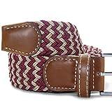 LUFA W Forme extensible en caoutchouc élastique Ceinture boucle ardillon Woven ceinture pour Hommes / FemmesB05