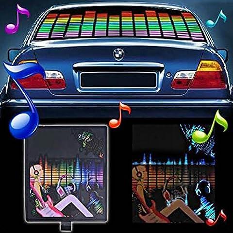 mfpower Musik Rhythm Sound aktiviert Equalizer LED Licht Lampe Auto