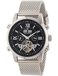 Ingraham Herren-Armbanduhr XL Calcutta II Analog Automatik Edelstahl IG CALC.2.221107