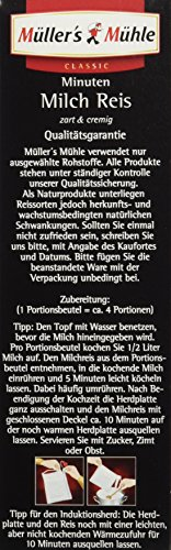 Müller's Mühle 5-Minuten Milchreis, 7er Pack (7 x 500 g Packung) - 6