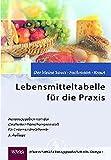 Lebensmitteltabelle für die Praxis: Der kleine Souci /Fachmann /Kraut (Für die Kitteltasche - Medizin) -