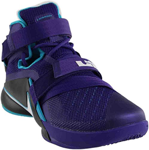 James Nike Lebron Schuhe (Nike Lebron Soldier IX, Herren Basketball Schuhe, Violett - violett - Größe: 43 EU (M) )