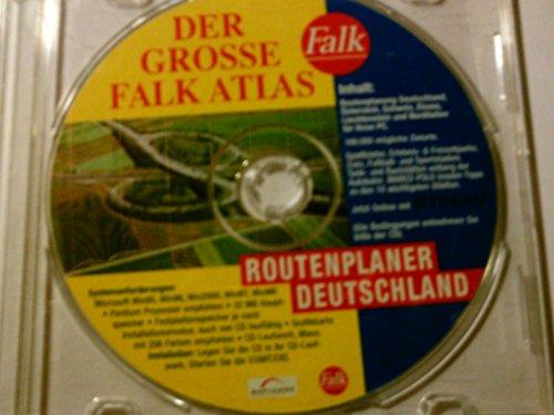 DER GROSSE FALK ATLAS - Routenplaner Deotschland