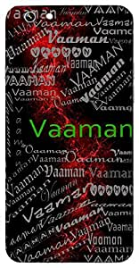 Vaaman (Lord Vishnu) Name & Sign Printed All over customize & Personalized!! Protective back cover for your Smart Phone : Samsung Galaxy Note-3