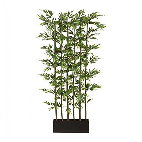 Bambusraumteiler Kunstpflanze 195 cm mit Naturstamm