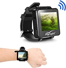 Flysight FPV Watch Wireless Receiver 5.8GHZ 32CH HD 960*240 Monitor Real-Time Video for Drone RC UAV Helicopter Quadcopter Aircraft