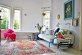 Tapis style vintage–style shabby chic–pour salon, chambre, couloir, etc.–(Replica 952225x155cm)