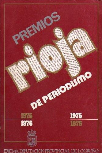 PREMIOS RIOJA DE PERIODISMO 1975-1976. José Guerrero Martín: