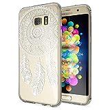 NALIA Handyhülle für Samsung Galaxy S7 Edge, Slim Silikon Motiv Case Hülle Cover Crystal Schutzhülle Dünn Durchsichtig, Etui Handy-Tasche Backcover Transparent Bumper, Designs:Dreamcatcher