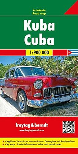 Cuba, mapa de carreteras. Escala 1:900.000. Freytag & Berndt.: Wegenkaart 1:900 000 (Auto karte) por VV.AA.