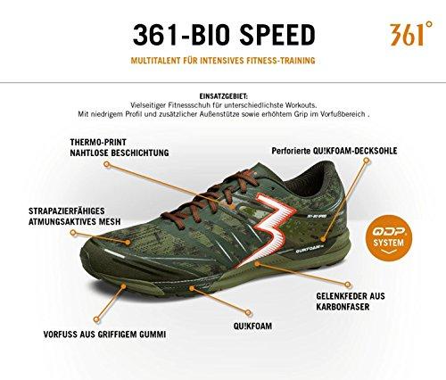 361 Chaussures De Course Pour Hommes Forest / Cots