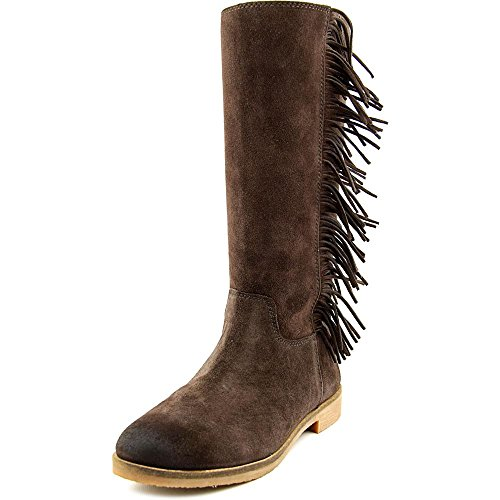 Lucky Brand Grayer Damen Rund Wildleder Mode Mitte Calf Stiefel Java