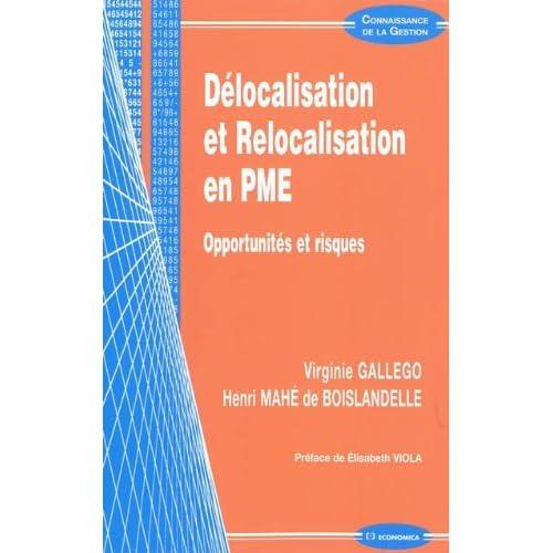 Délocalisation et relocalisation en PME