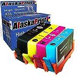 4x Druckerpatronen komp. für HP 903 XL 903XL Multipack für HP Officejet Pro 6860 Series 6868 6950 6960 6970 6975 6900 Series All-in-One Tintenpatrone