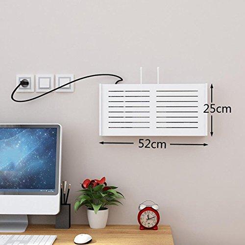 WENBIAOXUE Regal geschnitzt Regal Rack Partition TV Hintergrund Dekorrahmen für Wände Louver Size