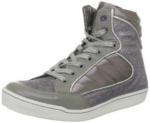 M by Monderer  Shaq,  Sneaker donna, Argento (Silber (Argent / Paillettes)), 41 EU