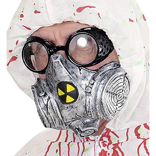 Widmann 00831 Gasmaske, Grau, One (Fancy Dress Gasmaske)
