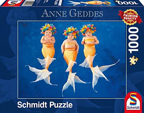 Schmidt Spiele Puzzle 59358 - Anne Geddes, Nixentanz, 1000 Teile