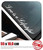 Low is a Lifestyle Frontscheibenaufkleber 55,0 cm x 10,0 cm Auto Aufkleber JDM OEM Tuning Sticker Decal 30 Farben zur Auswahl