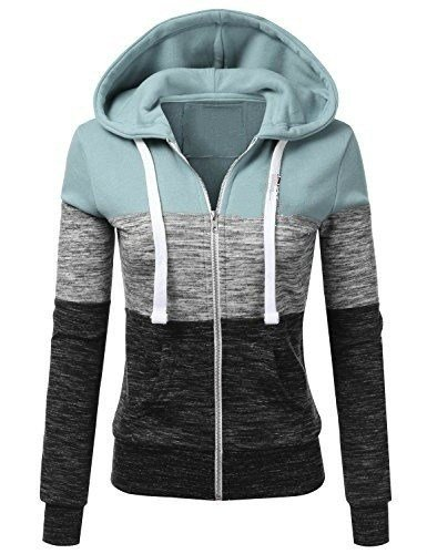 c00ab48fe980d1 Qingxian Damen Kapuzenpullover Sweatjacke Hoodie Sweatshirt Zipper Hoodies  Sweatshirt Oberteil Pullover