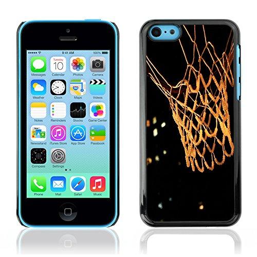 Graphic4You Basketball Korbball Spiel Sport Thema Design Harte Hülle Case Tasche Schutzhülle für Apple iPhone 5C Design #5