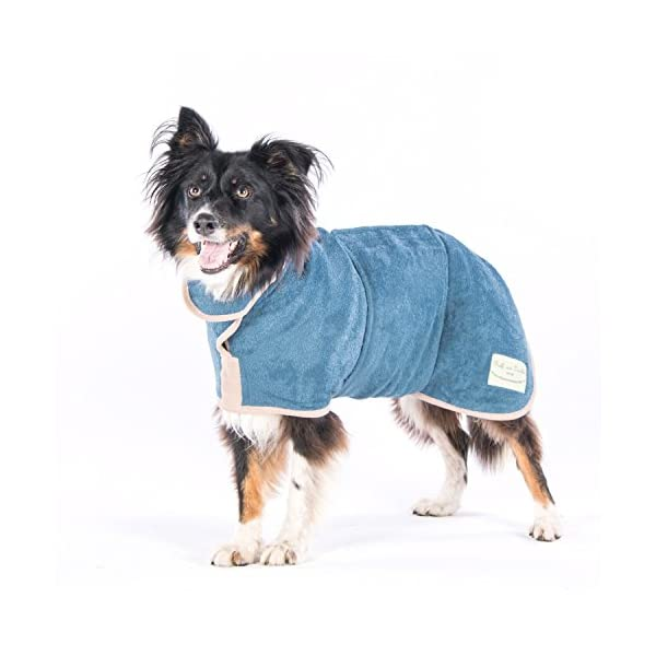Ruff and Tumble Dog Drying Coat - Classic Collection 4