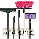 Gerätehalter, Werkzeugleiste für 11 Geräte, Garten Werkzeug Geräte Halter Leiste, Besen Halter, CC1003