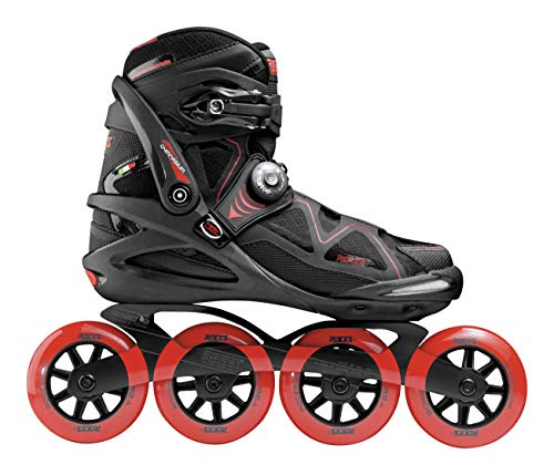 Roces Herren Gymnasium 2.0 TIF Inline Skates, Black-red, 44