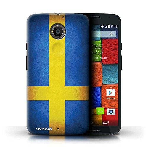 Kobalt® Imprimé Etui / Coque pour Motorola Moto X (2014) / Iran conception / Série Drapeau Suède/suèdois