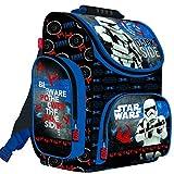 Star Wars Schulranzen Rucksack Kinderrucksack Schulrucksack Ranzen Junge schwarz blau sehr leicht gepolstert