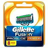 Gillette Fusion ProGlide Power Herren 's Razor Klingen, 8 Klingen