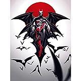 COMIC BOOK CHARACTERS HARLEY QUINN BATMAN BATS 18X24'' AFFICHE POSTER ART PRINT LV10020
