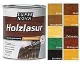 Super Nova Holzlasur sämtig gläzend 750 ml , Farbe:Farblos