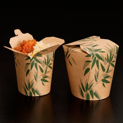 Garcia de Pou 450Unidad Naturaleza Feel Green para microondas recipientes, Cartón, Blanco, 8x 8x 9cm, Cartón, Blanco, 9 x 9 x 9 cm