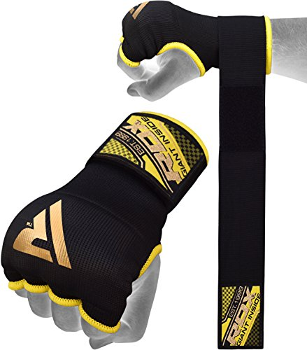 RDX Training Boxing Inner Gloves Hand Wraps MMA Fist Protector Bandages Mitts