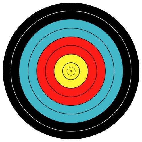 123t-slipmats-archery-target-turntable-slipmat-x-1-single