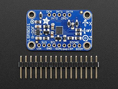 Adafruit 9-DOF Accel/Mag/Gyro+Temp Breakout Board - LSM9DS1