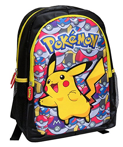 Pokémon Mc-236-pk 40cm Pikachu avec Pokeballs Sac à Dos