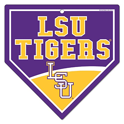 Wincraft LSU Louisiana State University Tigers 23,5x 23,5cm Home Teller Kunststoff Straßenschild -